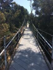 Bruce St Suspension Bridge - San Diego, CA