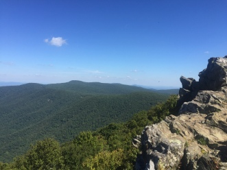 Hawksbill Overlook - Shenandoah National Park