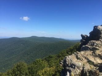 Hawksbill Overlook - Shenandoah National Park
